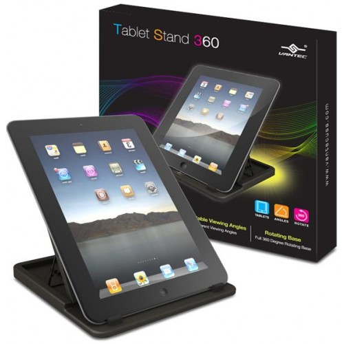 Black Tablet Stand for iPAD / Tablet / eBook (TAC-100-WH)