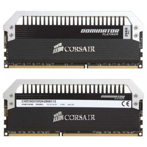 Dominator Platinum 2 x 8GB 2666MHz DDR3 Desktop Memory Kit (CMD16GX3M2A2666C12)