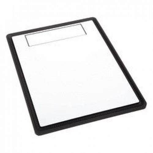 Solid Front Panel - White With Black Highlight (BFC-PRo-300-WKFNA)