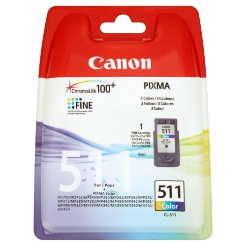 Canon Cl-511 Colour Ink Cartridge (CCL511)