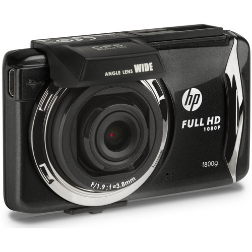 "HP F800G Dash Camcar Camcorder 2.7"" LCD Touchscree (HPF800G)"