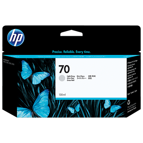HP 70 130-Ml Light Gray Ink Cartridge (C9451A)